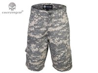 Wholesale Tactical All weather Outdoor Short Pants Breathable Combat Emerson Training Sport Casual Trousers Men s Shorts EM7029 ACU