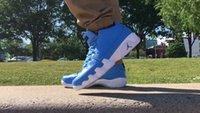 jordan size 15 - Top Quality Air Jordan Retro Pantone Low White University Blue OG Air Jordans UNC Size