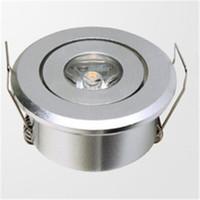 Wholesale Super mini built in LED downlight W LED Spotlight LED Ceiling Light AC85 V warm white cold white free delivery