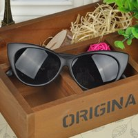 Wholesale NEW Sun Glasses for Women Cat Eye Sunglasses Summer Style Eyewear Bright Glass with Mix Color Frame Leg