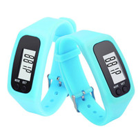 Cheap Casual LCD Pedometer Run Step watch Best Unisex Not Specified Bracelet LED Pedometer Watches