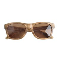 Wholesale Premium Natural Bamboo Rose Walnut Beech Wood Unisex Sunglasses with Polarized Lenses Retro Style Designer Sun Glasses for Man and woman