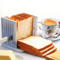bakery bread slicer - Toast Slicing Tools Portable Bread Sandwich Slicer Cutter Mold Maker Bakery And Pastry Tool Kitchen Tools