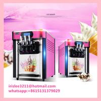 Wholesale by DHL electric Ice cream maker Commercial Soft Ice cream machine L H Sundae Ice cream machine Yogurt machine
