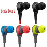 active shipping - 2016 new Used Beats tour2 Active collection headphone noise Cancel Headphones Headset Refurbished with seal retail box Drop Shipping