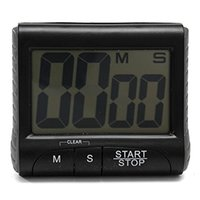 Wholesale LCD Digital Kitchen Timer Count Down Up Clock Loud Alarm Black