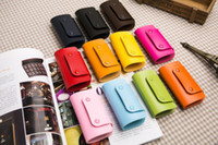 Wholesale 2016 New Arrival PU Leahter Key Packet Key Pocket Car Key Holder Running Camping