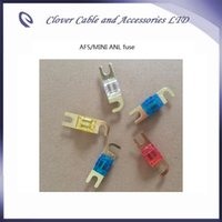 Wholesale Hot Sale A Golden Plated Car AFS Fuse MINI ANL Fuse