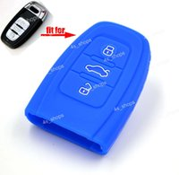 Wholesale Silicone Case Cover Holder Bag For Audi Smart Remote Key Fob A3 A4 S4 S5