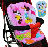 accessories for strollers - 2016 Baby Stroller Seat Cushion Mattress for Stroller Chair Pad Winter Stroller Accessories mattresses in the pram