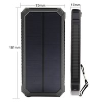 battery backup laptop - Top mAh Portable Solar Power Bank Dual USB LED Backup Charger Battery