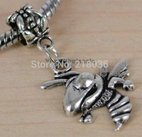 Wholesale Vintage Sliver Hornet Charms Pendant For Bracelet Necklace Fashion Jewelry Making Beads Brand DIY Gifts Accessories N1789