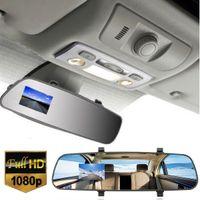al por mayor china visión nocturna-2.7inch 1080p visión nocturna LCD HD cámara de coches Dash cámara de vídeo grabadora espejo retrovisor vehículo coche DVR SUA_300