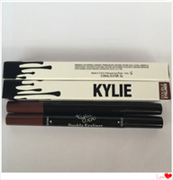 best black eyeliner pencil - 2016 New Arrival and best quality kylie double eyeliner and HOT MAKEUP Eyeliner Liquide Pencil waterproof Black and brown