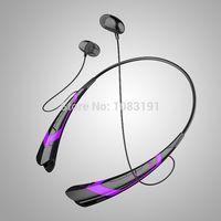 Wholesale Free DHL HBS Bluetooth Headset for LG Tone HBS Wireless Mobile Phone Headphone Earpod Sport Bluetooth Earphone HBS760