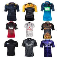 auckland rugby - 2 New Zealand Super Rugby Auckland Blues Rugby Jersey Home Maori Shirt NRL Otago hommes shirt brode sublime Jersey
