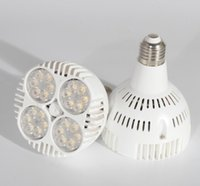 aluminium cooling - E27 W LM Par30 Spotlight Aluminium AC110V V LEDS Bulb for Household Built in Fan Cooling Hot Sale