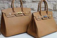 Wholesale 30 cm birking bags leather women bag Fashion genuine leather bags handbags women new famous brands designers handbag