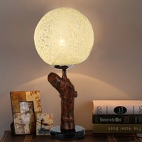 Wholesale VISDANFO Contracted Modern Warm New Chinese style lamp bedroom berth lamp study Desk lamp
