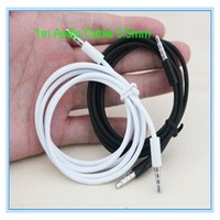 apple iphone rca cable - Audio Cable M mm to mm Car Aux for MP3 for iphone Samsung apple mobile phone MP3 Colors