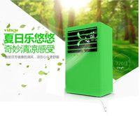Wholesale Mini Desktop Cooling Fan No leaf air conditioning fan single cooling fan spray