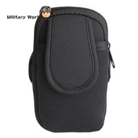 Wholesale Outdoor Sport Diving Running Bag Wrist Arm Band Case For Phone Holder Cover Travel Gym Hiking Cycling Key Wallet Card Bag Pouch