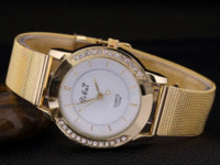 american car battery - car New Fashion Alloy Ladies Watch Hot European and American Exquisite Gold Quartz Watched