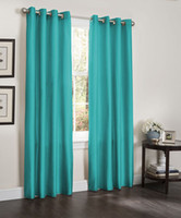 Sheer Curtains Built-in Sheer TWO WINDOW CURTAINS, 55x84, LINED HEAVY THICK PANEL