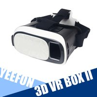 Wholesale 2nd Generation D VR BOX II D Glasses Upgraded Edition Virtual Reality Glasses Google Glasses Bluetooth Remote Control Gamepad