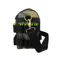 Wholesale Tourbon Hunting Shooting Shotgun Cartridge Bag Camouflage GA Holds Shells for Hunting Gun Accessories