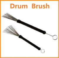 Wholesale Top quality Retractable Metal Steel Wire Strands Drum Brushes Sticks Loop End Drump Brush Dropshipping