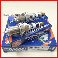 Wholesale NEW NGK Spark plug BKR6EIX for toyota subaru kia Audi etc