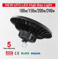Wholesale 200W Led High Bay Light Cree Meanwell Gas Station Light Sewing Lamp Led Led Workshop Lights