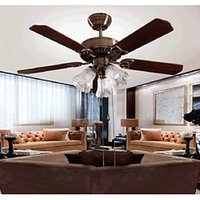 Wholesale Ceiling Fans w Modern Contemporary Designers Others Metal Ceiling FansLiving Room E26 E27 Bulbs cm Kids Room Study Room