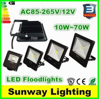 Wholesale Outdoor LED Floodlights Landscape Lighting Flood Light W W W W W waterproof garden led lights fixtures V v