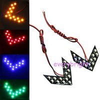 bentley car colors - Car Styling Pairs SMD Sequential Led Lights Arrow Panels For Car Side Mirror Turn Signal Indicator Light Colors