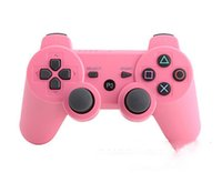 Wholesale Wireless Bluetooth Game Controller for PlayStation PS3 Game Controller Gamepad Joystick for Android Video Games Colors