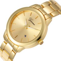 big ops - op Fashion Brand Luxury Geneva Watches Men Golden Watch Big Dial Watch Quartz Wristwatch Waterproof Men s Women Watch