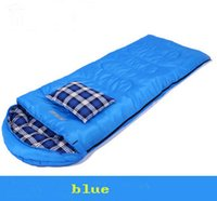 Wholesale Sleeping blue Bag Single Winter Fleabag outdoors activities Camping side cm convenient for adults children