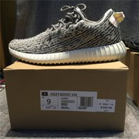 Cheap Adidas Originals Kanye Milan West Yeezy Boost 350 Moonrock Oxford Tan Pirate Black Turtle dove Men's 2016 Sports Running Shoes With Box