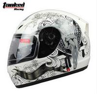 al por mayor electric motorcycle-casco de la moda Tanked que compite con la cara llena de la motocicleta con cascos de moto babero bicicleta eléctrica hecha de ABS Tamaño M L XL XXL