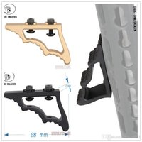 Wholesale EMERSON Tactical CNC M LOK Angled Fore Grip BD9299 BK RED GOLD Hunting Gun Accessories