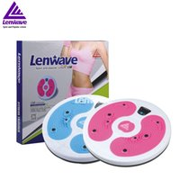 Wholesale Functional Training Equipment Balance Board Calories Waist Twisting Rotator Pilates Lenwave Brand Twister Plate