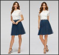 aline bridesmaid dresses - Short Sleeve Little Prom Dress Lace Bridesmaid Dress Short Homecoming Dress Sweet Aline Covered Bottons Best Sell Custom Made