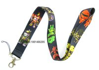 animation cells - Cartoon Animation Necklace Strap Lanyards Cell Phone PDA Key ID Strap Charms L010