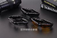 Wholesale Stylish Bluetooth Headset Sunglasses Stereo Monophonic Wireless Sports Headphone Handsfree Earphones Mp3 Mp4 Music Player UV Matterial