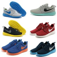 Wholesale Cheapest Kids Winter Shoes - New Cheap Brand Roshe Run Running Shoes Women & Men, Classical Lightweight London Olympic Athletic Outdoor Sneakers Kids shoes Size 36-46
