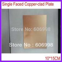 Wholesale CM MM Thickness Single Faced Copper clad Plate Glass Fiber PCB Board
