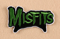 band logo stickers - Misfits Band Logo Embroidered Patch Of Stickers Applique TV Drama Children DIY Clothing Fabric Accessories