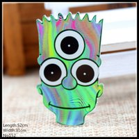 Wholesale Fashion lovely cool green monster cartoon acrylic Brooch Badge Pin Collar Jewelry Gift Pet cloth pet cartoon152